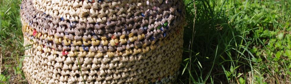 Plastic Bag News West Virginia Group Crochets Plastic Sleeping