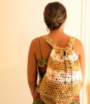 Plastic Bag Crochet Backpack (3)