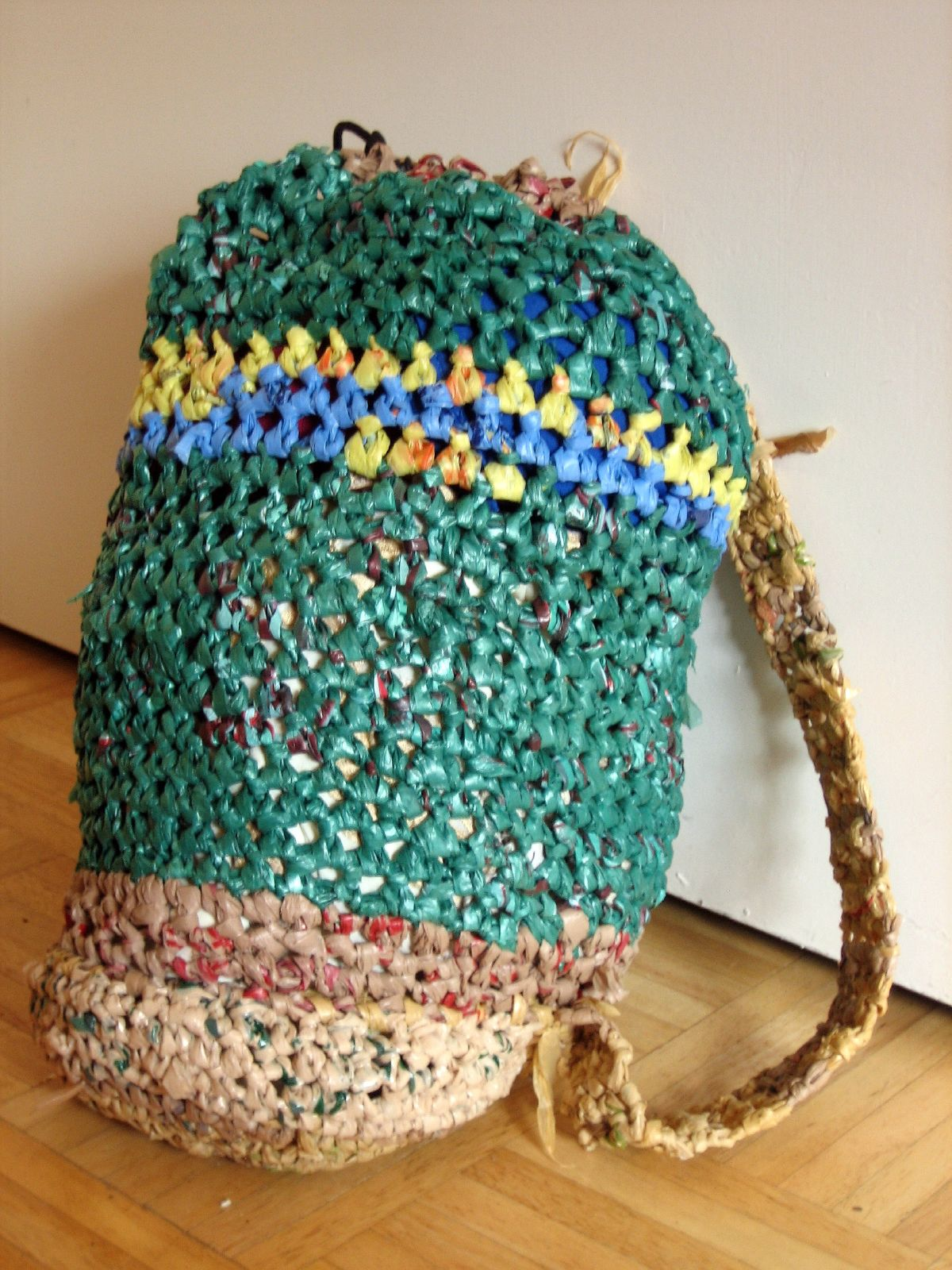 Crochet Pattern For Bags Plastic : Plastic Bag Creations BagsBeGone.com