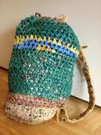 Plastic Bag Crochet Backpack (4)