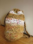 Plastic Bag Crochet Backpack (5)
