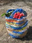 Plastic Bag Crochet Grocery Bag (2)