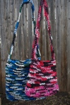 Plastic Bag Crochet Purses