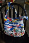 Plastic Bag Crochet Shopping Bag