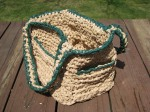 Plastic Bag Crochet Tote Bag With Pockets (3)